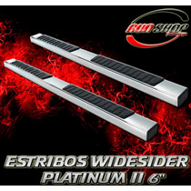 Estribos Widesider Platinum 2 Toyota Tundra Regular 07 - 15