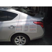 Spoiler Para Nissan Versa Modelito Oficial De Agencia