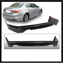 Spoiler Facia Defensa Trasera Honda Accord Sedan 2008 - 2010
