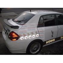 Nissan Tiida Aleron Modelo Importado De Japon Con Stop