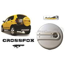 Cubierta Para Llanta Crossfox Color Plata Reflex Nueva
