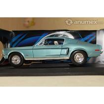 Juguete Mustang Gt 68 De Coleccion Clásico Escala 1:18 Nuevo