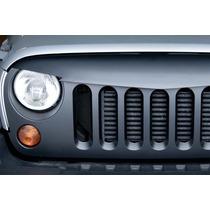 Parrilla Completa Jeep Wrangler Jk 2007-2015 Estilo Enojado