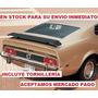 Spoiler Trasero Mustang 69-73 Cola Mach One Ford Aleron