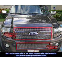 Combo Parrilla Billet Vertical Ford Expedition 2007 - 2012