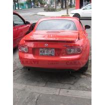 Mazda Mx5 Aleron De Buen Gusto Para Este Coche Deportivo