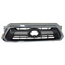 Parrilla Toyota Tacoma 2012-2013 C/mold Cromada
