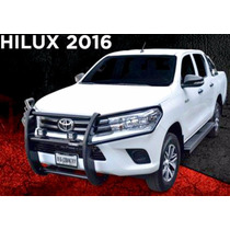 Tumbaburros Defensa Hilux 16