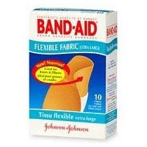Band-aid (r) Brand Tela Flexible Extra Grande Vendajes Box O