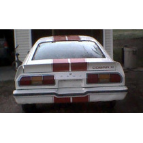 Cola Trasera Mustang Ii Cobra 74 78 Ford Auto Nueva Spoiler