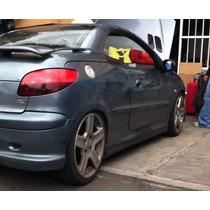 Estribos Deportivos Spoiler Faldones Peugeot 206 Y 207