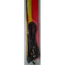 Antena Techo Cable Extención 2.3 Metros Varilla Acero 28 Cm
