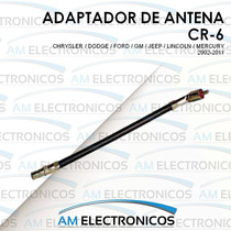 Adaptador De Antena Autoestereo Chrysler Dodge Ford 02-11