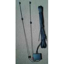 Antena Amplificada Digital Tv Tuner Pantalla 3.5mm Vhf Uhf