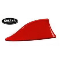 Antena De Tiburon Roja Chevrolet Mazda Volkswagen Etc