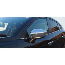 Cubre Espejos Cromados Mazda 3 2014