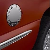 Puerta Adorno Tapa Gasolina Cromo Lobo F150 Dodge Ram 94-01