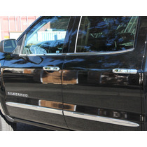 Cubre Manijas Cromadas Chevrolet Silverado, Cheyenne 2014-15