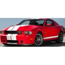 Franjas Sticker P/ Mustang Shelby 2009-2013