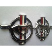 Emblema Mustang 35 Aniversario Par