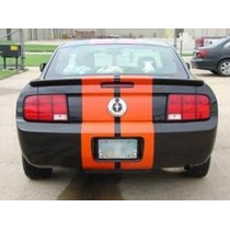 Franjas Sticker P/ Mustang 2005-2009 Rally Stripes