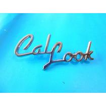 Emblema Volkswagen Sedan Vocho Cal Look Para Cofre