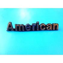 Emblema Rambler American Dl Vam Amc