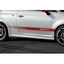 Franjas Sticker Vinil Fiat Abarth Side Stripe Down