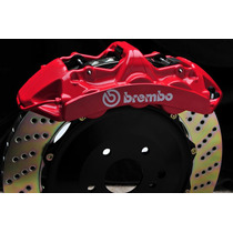 Brembo- 4 Calcomanias Reflectivas Brembo Para Calipers