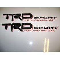 Calcomanias Toyota Racing Development