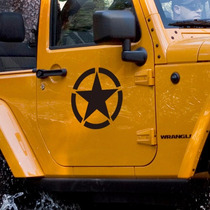 Emblema Army Para Jeep Vinil Reflejante Wrangler Rubicon