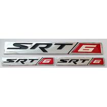 Emblema Srt/6 Para Chrysler 3 Piezas X $200