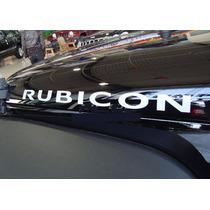 Logo Jeep Rubicon Cofre Lateral Calidad Premium 4x4