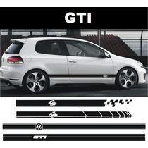 Sticker Calcas Decals Vinil Volswagen Gti