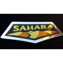 Emblema Sahara Jeep Wrangler Rubicon Liberty Autoadherible