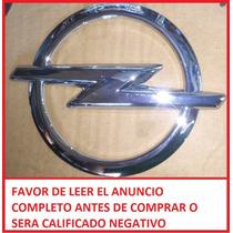 Emblema Logotipo Opel Original 13 Cm