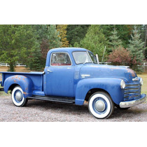 Emblema De Cofre Chevrolet Pick Up De 1949 A 1950