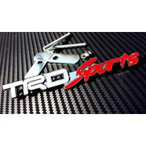Emblema Trd Toyota Metálico Parrilla Tacoma Corolla Cromado