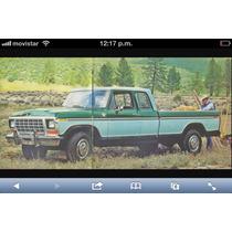 Empaque Original Ford 79 73 Nuevo Moldu Cromada Cabina Y 1/2