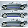 Franjas Lateral Sticker Vinil Mustang 2005-2012