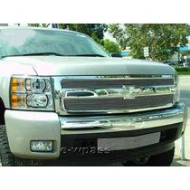 Parrilla Billet Cromada Chevrolet Silverado Cheyenne 07 08