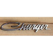 Dodge Charger - Emblema Leyenda Charger Metalico - Cromado