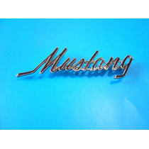 Emblema Ford Mustang 1969 - 1973 Laterales