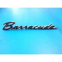 Emblema Plymouth Barracuda 1964 - 1965 Lateral