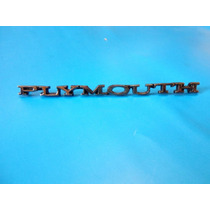 Emblema De Cofre Plymouth Barracuda Y Valiant Duster