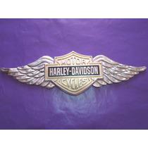 Emblema Harley Davidson Lobo Alas Ford Universal