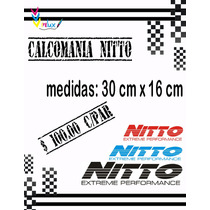 Sticker Nitto P/ Autos (par)