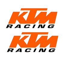 Sticker - Calcomania - Vinil - Logo Ktm Racing