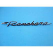 Emblema Ford Falcon Fairlane Ranchera