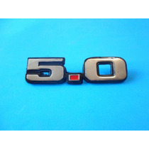 Emblema Ford Mustang 5.0 Metalico Laterales Años 80´s